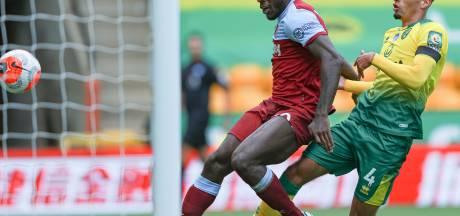 Antonio kegelt Krul en Norwich met vier goals uit Premier League