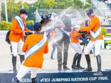 Markelose springruiter Greve wint met Oranje Nations Cup in Barcelona