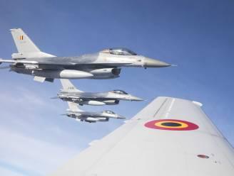Twee Belgische F-16's onderscheppen Russische bommenwerpers boven Noordzee