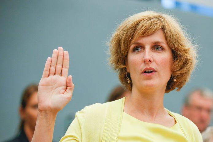 La ministre wallonne de l'Environnement et de la Nature Céline Tellier