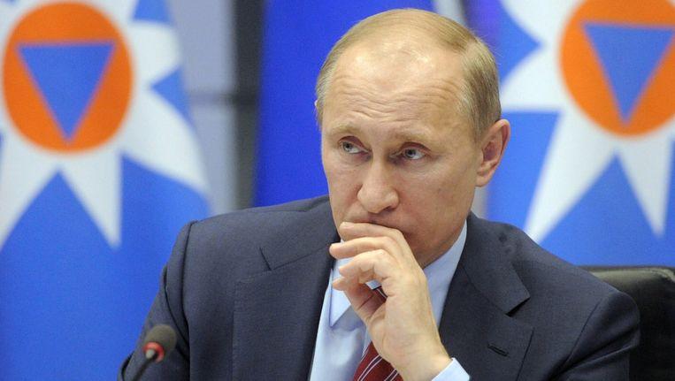 Premier Poetin. Beeld ap