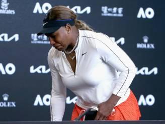"""Serena Williams verlaat persconferentie in tranen: """"Als ik ooit afscheid neem, ga ik dat niet zeggen"""""""