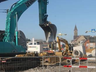 Hinder door betonwerken in Wielsbekestraat