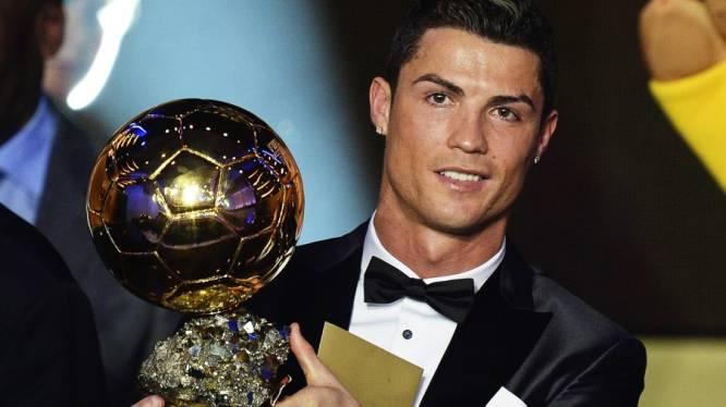 Cristiano Ronaldo Wereldvoetballer van het Jaar