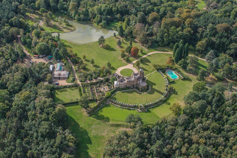 Fort Belvedere in Windsor Great Park Beeld Getty Images