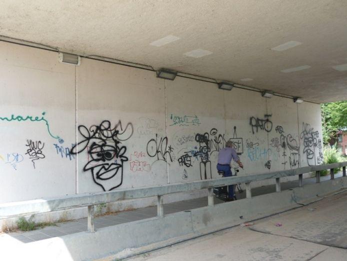 De muur tot voor kort