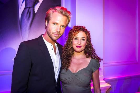 Katja en haar echtgenoot Thijs Römer.