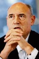 Herman Wijffels tijdens de formatie van 2007