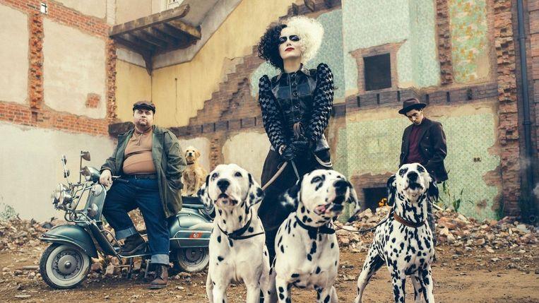 Emma Stone in 'Cruella' Beeld Disney