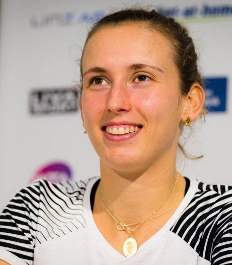 """Elise Mertens vient à bout de Zvonareva: """"Très contente de mon troisième set"""""""