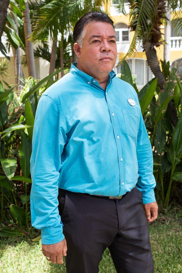 Farley Hollander, manager van het Avila Beach Hotel.  Beeld Sabine van Wechem