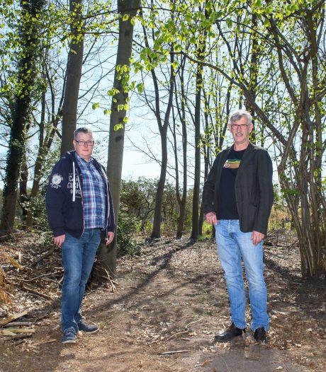Gert en Kees dromen over voedselbos in Almelo: jarenlang snoepen uit bomen en planten