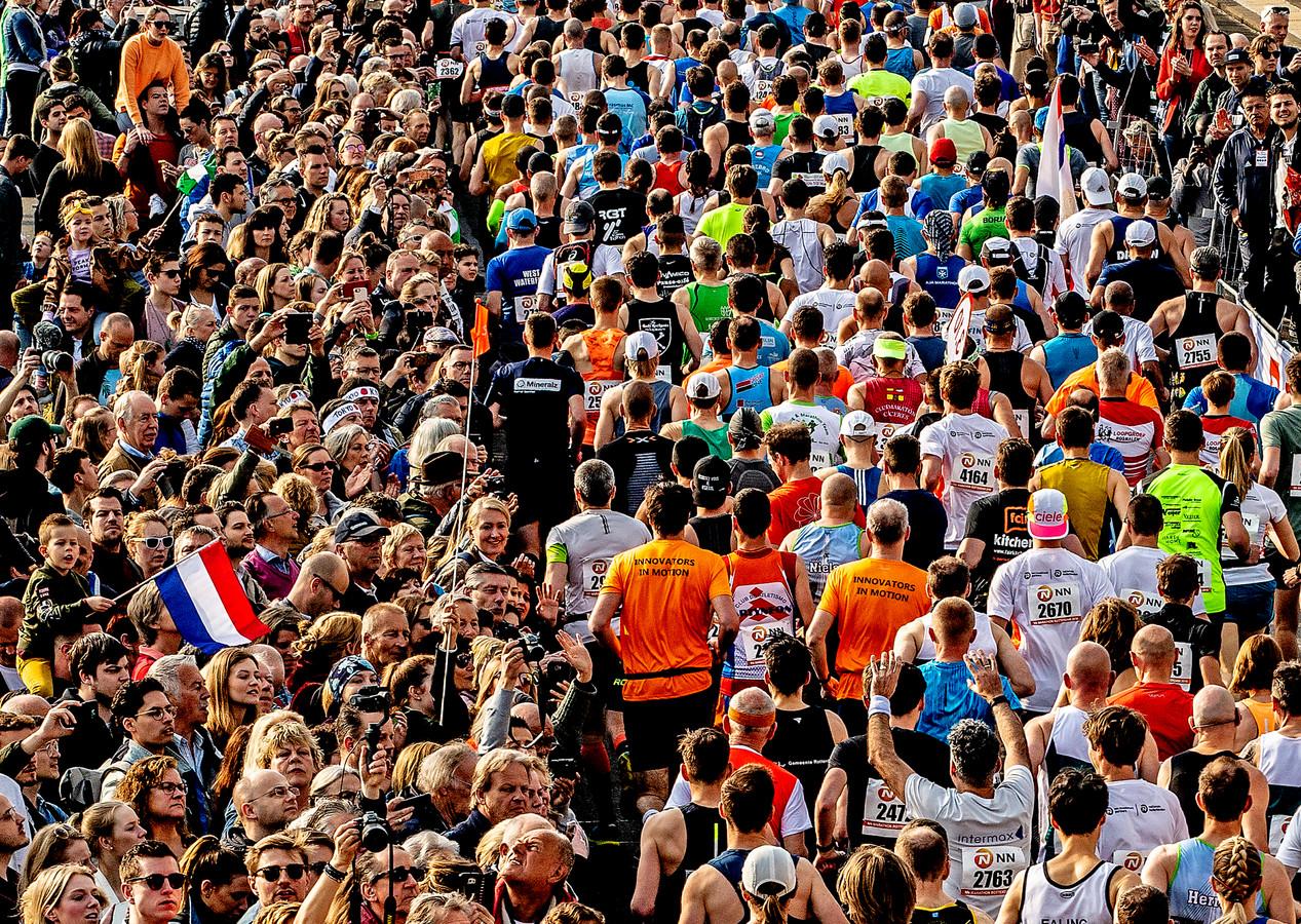 Krijgen we net als bij de Rotterdam marathon van 2019 weer massa's mensen aan de kant?