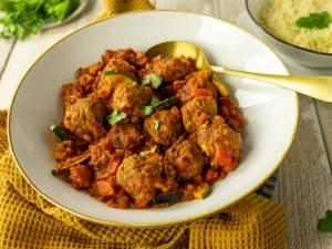 Wat Eten We Vandaag: Gekruide gehaktballetjes in tomatensaus