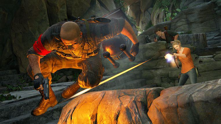 Een beeld uit 'Uncharted 4: A Thief's End'. Beeld RV Sony