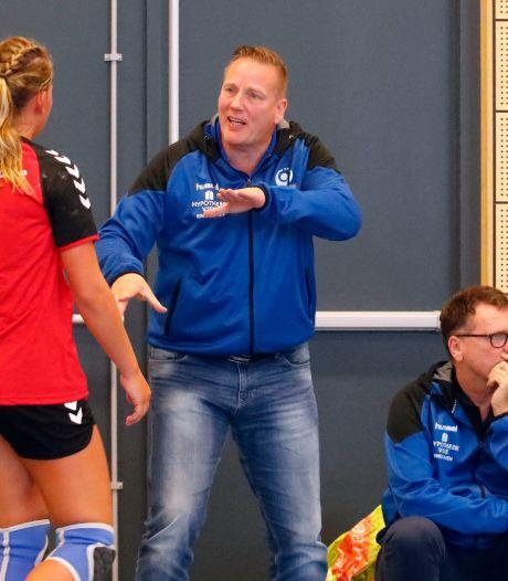 Handballers van Tachos raken Bredase trainer Fred Michielsen kwijt