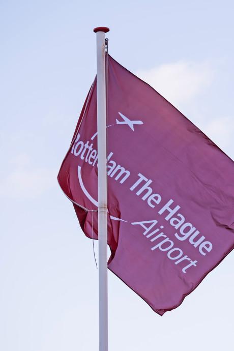 Nu al te veel vluchten Rotterdam The Hague Airport, Schiedam wordt ontzien