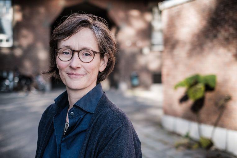Corinne Vandermeulen, vaccinologe. Beeld ID/Bob Van Mol