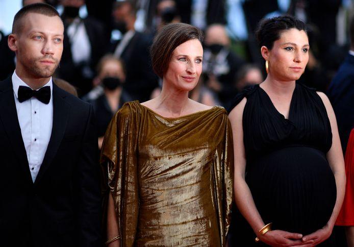Camille Cottin et la réalisatrice Rachel Lang