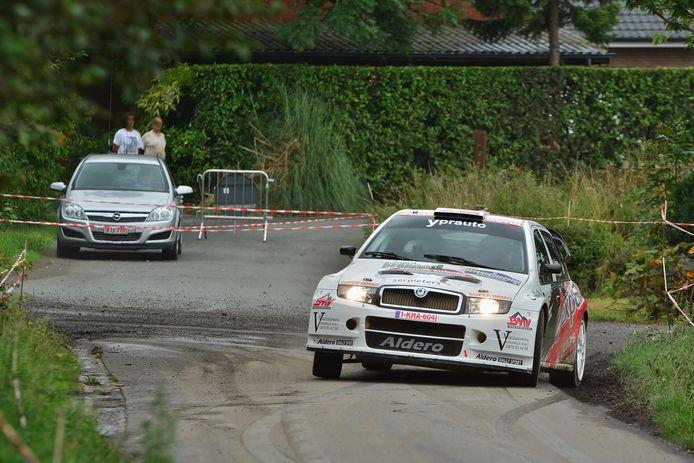 Een foto van een eerdere editie van de Rally van Staden.