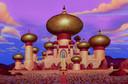 Het paleis van de sultan in Aladdin.