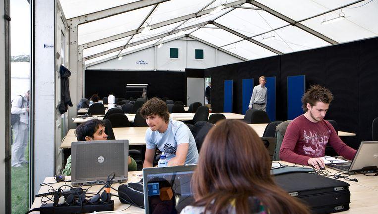 Studenten TU Delft Beeld ANP