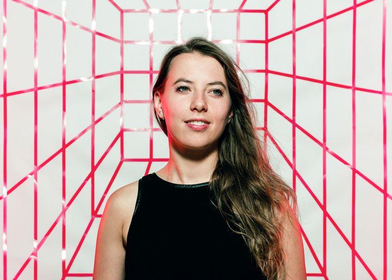 Aline Muylaert: 'We hebben niet meer rolmodellen nodig. Iedereen mag zich wat anders, wat vrouwelijker gedragen.'  Beeld Tim Coppens