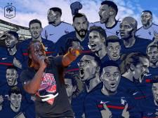 Youssoupha signe l'hymne des Bleus et s'attire les critiques du RN