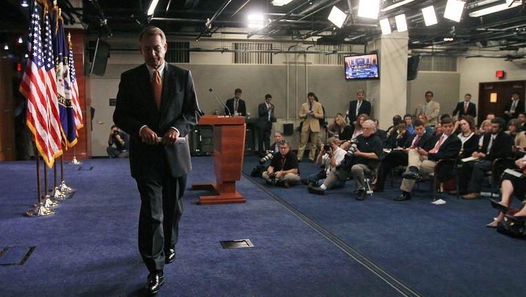 John Boehner in Capitol Hill. © ANP Beeld