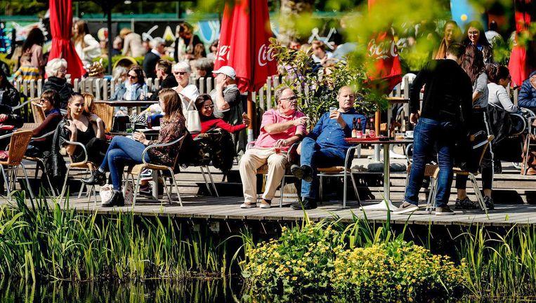 Na regen komt zonneschijn, denken steeds meer Nederlanders Beeld ANP