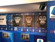 Clubs verbijsterd over antiracismecampagne met apen in Serie A