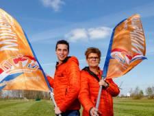 Wéér geen Koningsdag voor Oranjegezinde Sprang-Capelle, maar: 'Volgend jaar halen we het dubbel en dwars in'