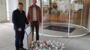 """Brandhoef schenkt 50 kilo paaseitjes  aan Zorggroep Orion: """"We mogen ze  niet uitdelen in eigen buurt"""""""