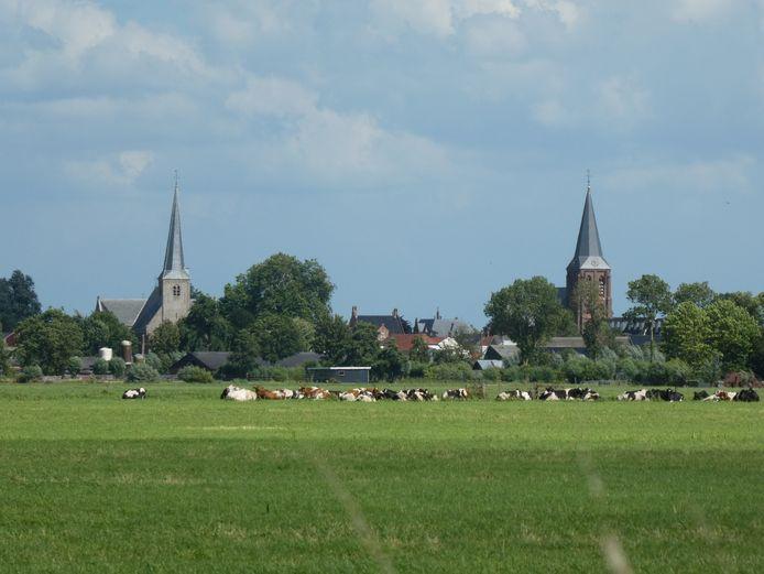 Benschop, een van de negen kernen van de gemeente Lopik.