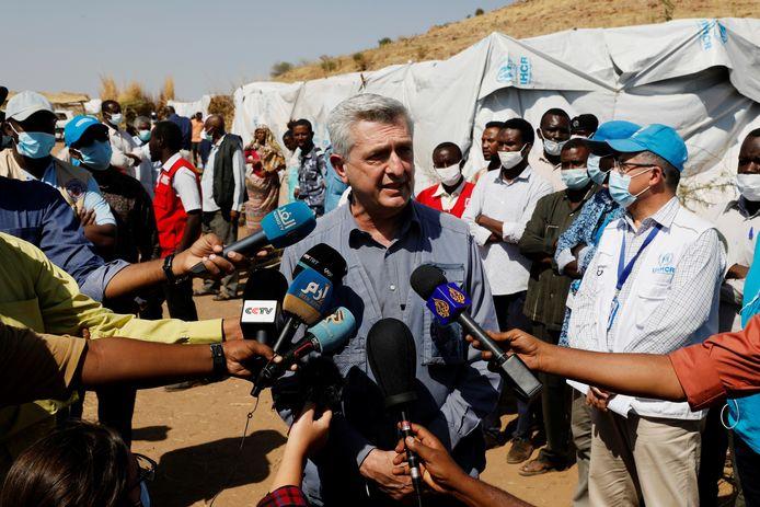 Le Haut-Commissaire de l'ONU pour les réfugiés, Filippo Grandi