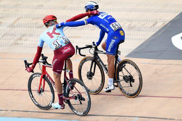 Gilbert troeft Politt af op de piste van Parijs-Roubaix. Die eerste trekt naar Lotto-Soudal.