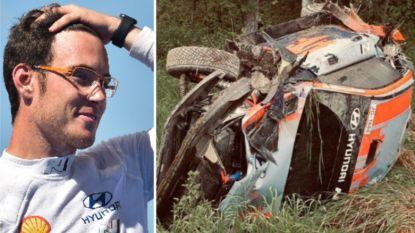 Na drie maanden zonder rally crasht Thierry Neuville zwaar tijdens geheime testdag in Finland
