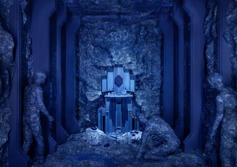 Het interieur van Sanctum. Beeld
