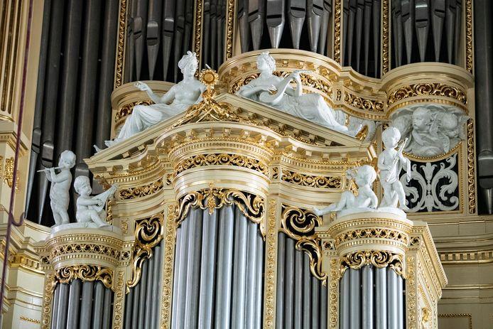 De restauratie van Het grote orgel in de Sint Stevenskerk is onlangs al voltooid.