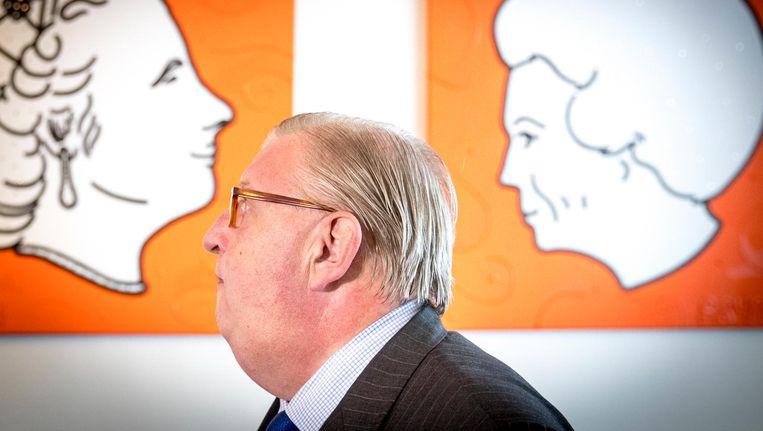 Partijvoorzitter Henry Keizer van VVD legt zijn functie tijdelijk neer. Beeld ANP