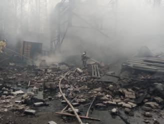 Vijftien doden bij ontploffing en brand in buskruitfabriek in Rusland