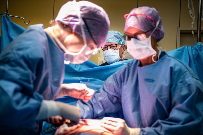 Een prostaatoperatie.