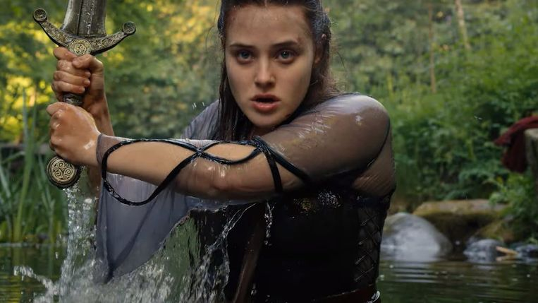 Katherine Langford in 'Cursed'.