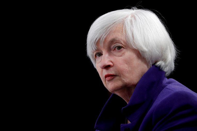 De Amerikaanse minister van Financiën Janet Yellen. Beeld REUTERS
