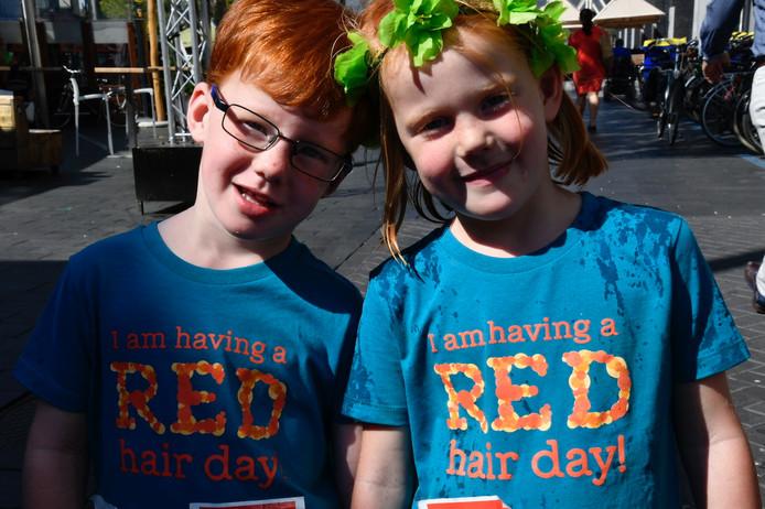 Lotte en Niels uit Udenhout zijn ambassadeurs van de RedHead Days in Tilburg
