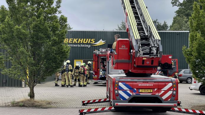 De brandweer had de brand snel onder controle en kon erger voorkomen.