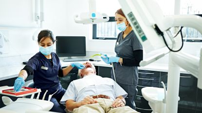 Meer dan een kwart van de 70-plussers gaat niet naar de tandarts