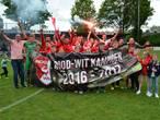 Rood-Wit kampioen na prachtgoal Van Steen