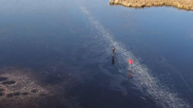 VIDEO. Zo mooi is de winter: volop schaatsplezier in Nederland