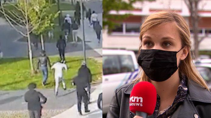 Sarah Frederickx, woordvoerster van de politiezone Brussel Zuid.